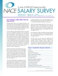 Salary Survey, Winter 2010 by National Association of Colleges and Employers