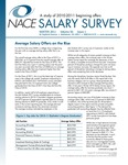 Salary Survey, Winter 2011 by National Association of Colleges and Employers