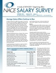 Salary Survey, Spring 2011 by National Association of Colleges and Employers