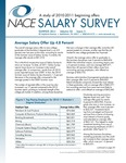 Salary Survey, Summer 2011 by National Association of Colleges and Employers