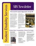 Student Disability Services Campus Newsletter, February 2012