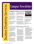 Student Disability Services Campus Newsletter, April 2013 by University of Northern Iowa. Office of Student Disability Services.