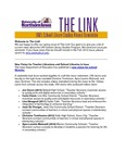 The Link, Spring 2014 by University of Northern Iowa. Division of School Library Studies.