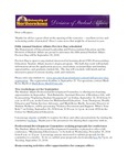 Student Affairs Newsletter, September 2014 by University of Northern Iowa. Division of Student Affairs.