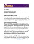 Student Affairs Newsletter, April 2015 by University of Northern Iowa. Division of Student Affairs.