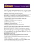 Student Affairs Newsletter, August 2014 by University of Northern Iowa. Division of Student Affairs.