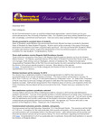 Student Affairs Newsletter, December 2012