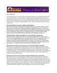 Student Affairs Newsletter, December 2014