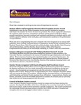 Student Affairs Newsletter, February 2015 by University of Northern Iowa. Division of Student Affairs.
