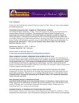 Student Affairs Newsletter, February-March 2013