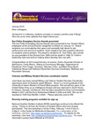 Student Affairs Newsletter, January 2013 by University of Northern Iowa. Division of Student Affairs.