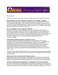 Student Affairs Newsletter, January 2015 by University of Northern Iowa. Division of Student Affairs.