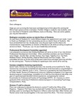Student Affairs Newsletter, July 2012 by University of Northern Iowa. Division of Student Affairs.