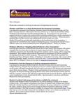 Student Affairs Newsletter, March 2015 by University of Northern Iowa. Division of Student Affairs.