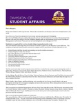Student Affairs Newsletter, May-June 2015 by University of Northern Iowa. Division of Student Affairs.