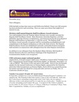 Student Affairs Newsletter, November 2013 by University of Northern Iowa. Division of Student Affairs.