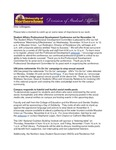 Student Affairs Newsletter, November 2014