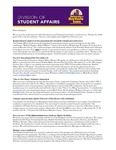 Student Affairs Newsletter, November 2015 by University of Northern Iowa. Division of Student Affairs.