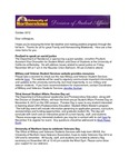 Student Affairs Newsletter, October 2012