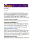 Student Affairs Newsletter, October 2014 by University of Northern Iowa. Division of Student Affairs.