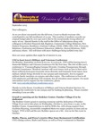 Student Affairs Newsletter, September 2013 by University of Northern Iowa.  Division of Student Affairs.