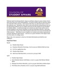 Student Affairs Newsletter, March 2016 by University of Northern Iowa.  Division of Student Affairs.