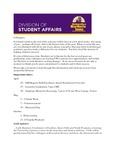 Student Affairs Newsletter, April 2016 by University of Northern Iowa.  Division of Student Affairs.