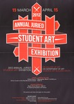 2012 Annual Juried Student Art Exhibition by University of Northern Iowa
