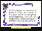 [002a] Think It Over (WOMAN should not condemn MAN) [front] by Cargill Company