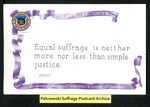 [007a] Think It Over (Equal suffrage is neither) [front]