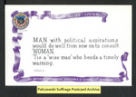 [017a] Think It Over (MAN with political aspirations) [front] by Cargill Company