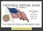 [027a] United Equal Suffrage States of America - Wyoming [front] by Cargill Company