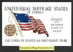 [030a] United Equal Suffrage States of America - Idaho [front] by Cargill Company