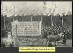 [042a] Amendment Float - Suffragette's Parade - March 3rd 1913 - Washington, D.C. [front]