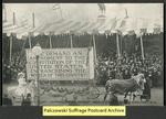 [042a] Amendment Float - Suffragette's Parade - March 3rd 1913 - Washington, D.C. [front]