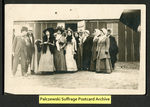 [053a] Suffragettes in Houston, Texas 1912 [front] by Publisher unknown