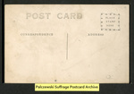 [054b] Large group in stands depicting American flag [back] by Publisher unknown