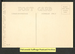 [086b] Votes for Women: Suffrage First! [back] by National Woman Suffrage Publishing Company