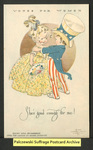 [087a] Votes for Women: She's good enough for me! [front] by National Woman Suffrage Publishing Company