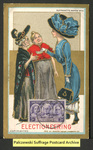 [105a] Suffragette series no.2: Electioneering (version 2) [front]