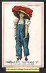 [106a] Suffragette series no.3: Pantalette suffragette [front]