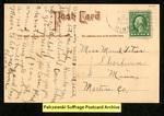[106b] Suffragette series no.3: Pantalette suffragette [back]