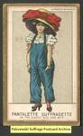 [107a] Suffragette series no.3: Pantalette suffragette  (version 2) [front]
