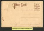 [107b] Suffragette series no.3: Pantalette suffragette (version 2) [back]