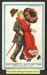 [108a] Suffragette series no.4: Suffragette vote-getting [front]