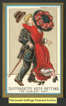 [109a] Suffragette series no.4: Suffragette vote-getting (version 2) [front] by Dunston-Weiler Lithograph Company