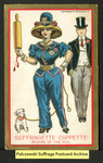 [111a] Suffragette series no.5: Suffragette coppette (version 2) [front] by Dunston-Weiler Lithograph Company