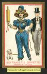 [111a] Suffragette series no.5: Suffragette coppette (version 2) [front]