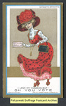 [122a] Suffragette series no.12: I love my husband, but [front] by Dunston-Weiler Lithograph Company