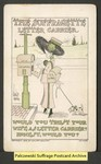 [169a] The suffragette letter carrier [front] by Walter Wellman
